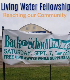 Living Water Fellowship - Rush City, MN - Community Outreach September 2019