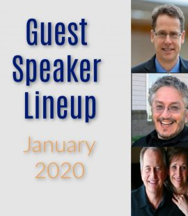 Living Water Fellowship - Rush City, MN - Non Denominational Church - Guest Speakers January 2020